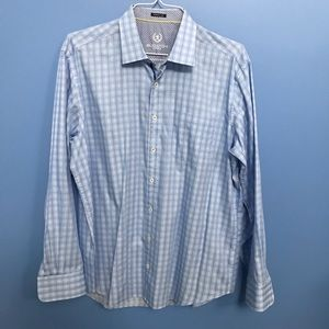 Bugatchi Plaid Button Down Shirt